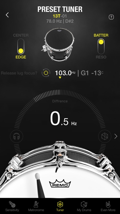 Drumtune PRO | Drum Tuner screenshot-0
