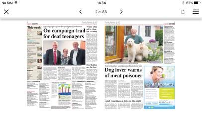 Gazette and Herald screenshot three