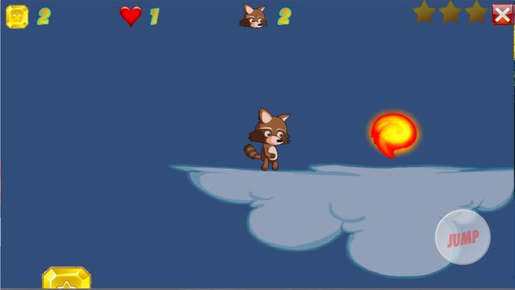 Fireball Run Retro Arcade Game screenshot-6
