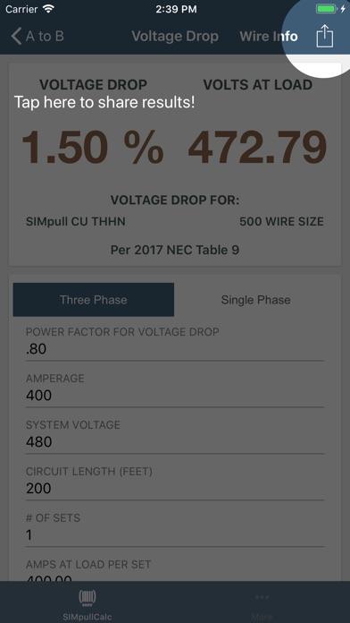 Simpull 600v calculator app price drops screenshot 9 for simpull 600v calculator greentooth Images