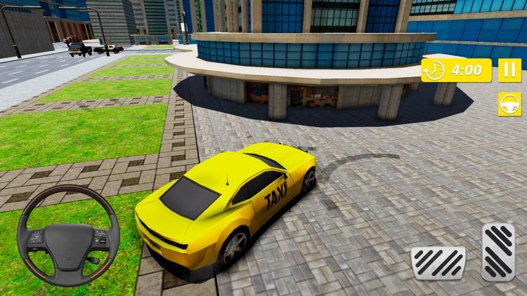 Real Taxi Cab Driver City screenshot-4