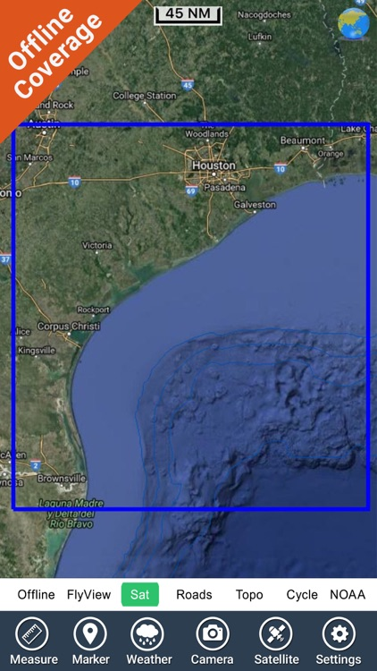 Texas Nautical Charts GPS - HD screenshot-4