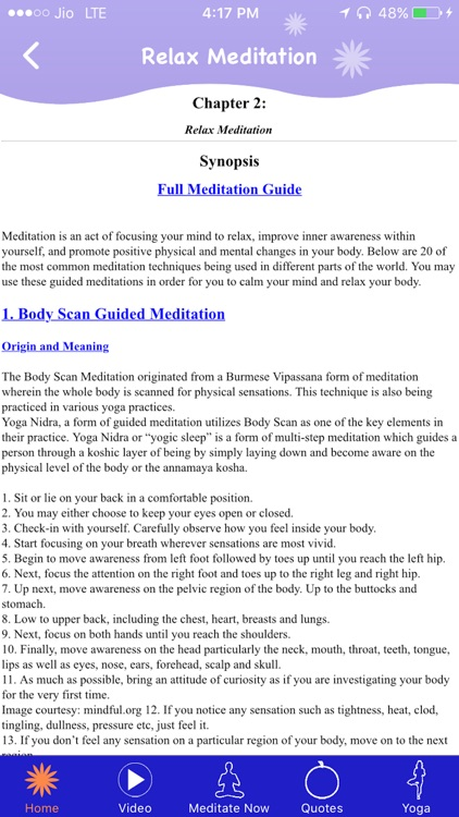 Relax Meditation screenshot-1