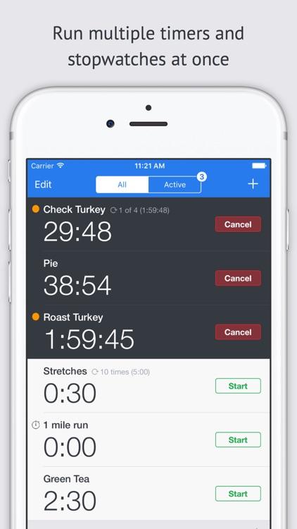 Timer+ screenshot-0