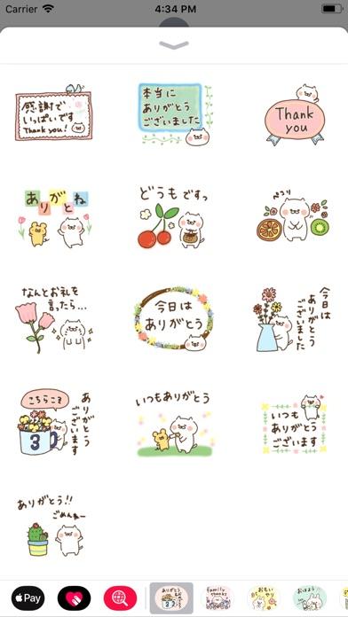 おめでとう&ありがとう〜たれ目ネコ〜-2