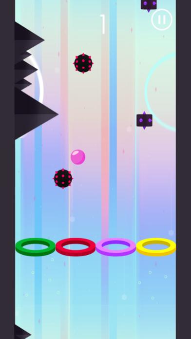 Hoop Wall Color Ball screenshot two