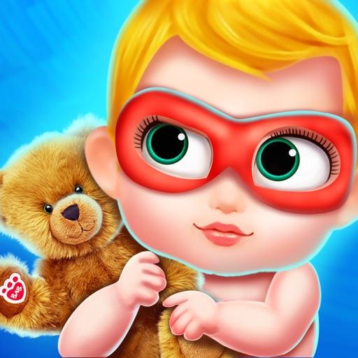 Superhero Mommys NewBorn Baby