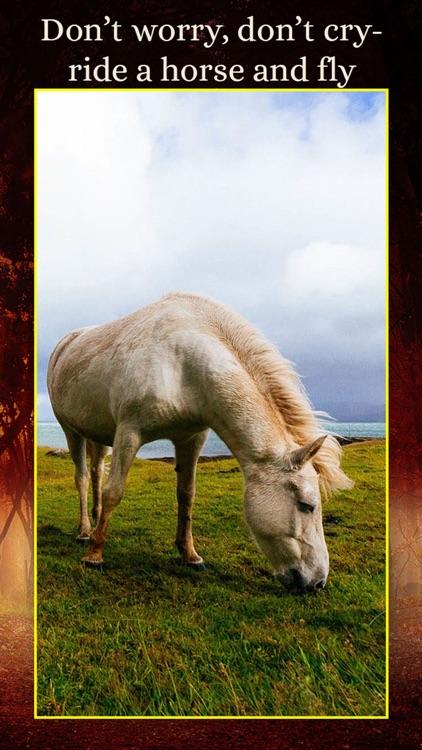 Horses - Wallpapers + Add Text screenshot-3