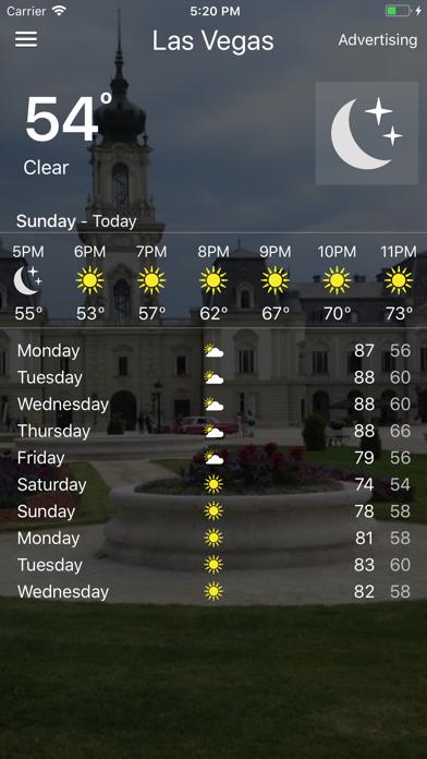 Weather - Local Forecast screenshot four