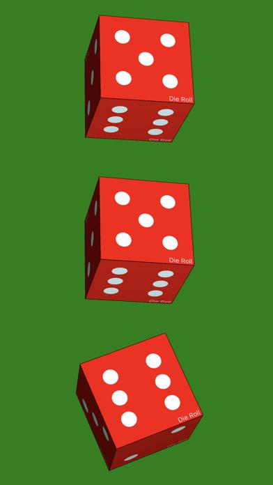 Die Roll - dice roller app screenshot three