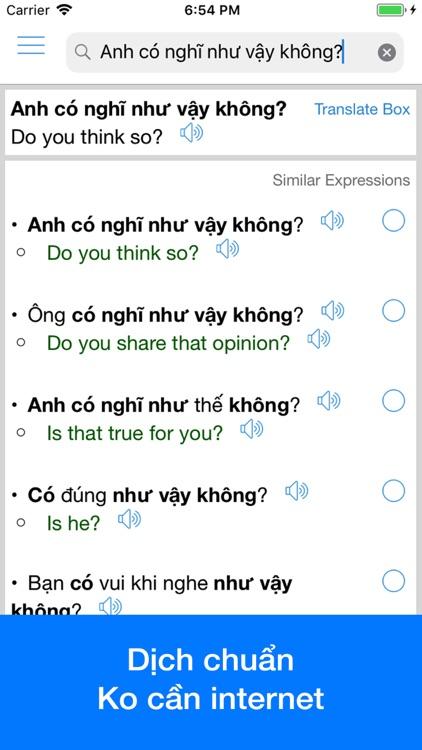 Vietnamese Translator OFFLINE by EVOLLY APP
