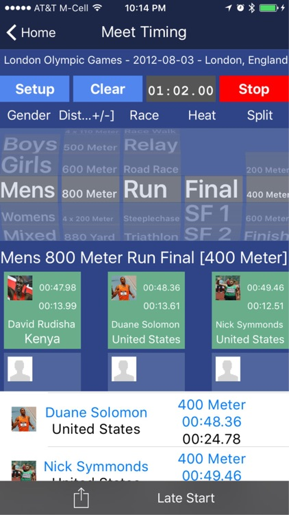 Track and Field Toolkit