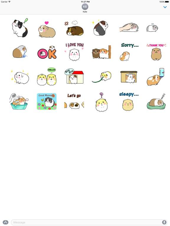 Animated Small Hamster Sticker screenshot 3