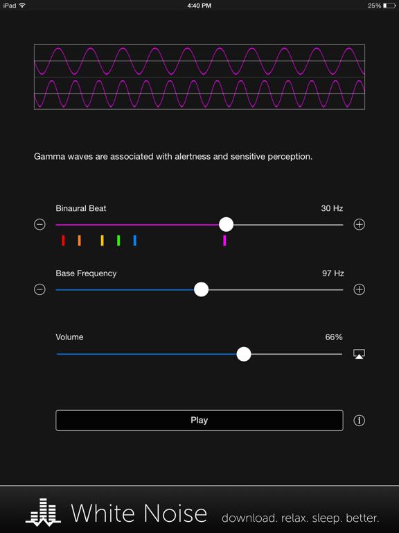 Binaural Beats Generator + screenshot 8