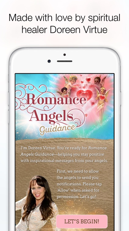 Romance Angels Guidance - Doreen Virtue screenshot-4