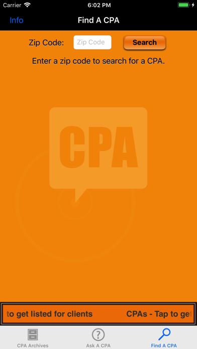 ASK A CPA Tax AnswersScreenshot of 4