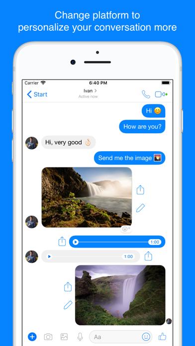 ChatsFake for WhatsApp screenshot three
