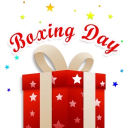 Happy Boxing Day Gifts Sticker