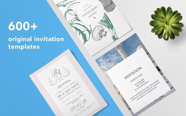 Invitation Templates Design On The Mac App Store