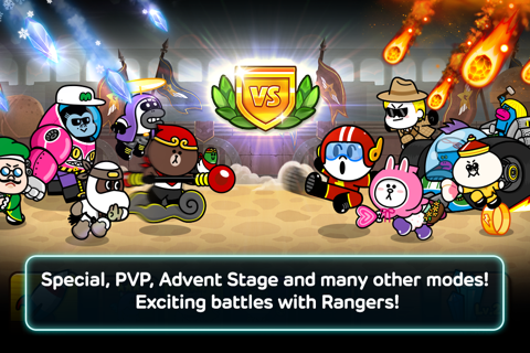LINE Rangers screenshot 3