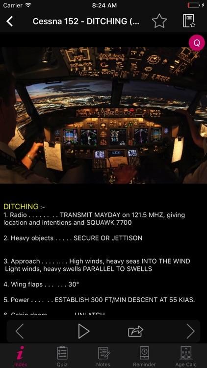 Cessna 152 Checklist Pilot screenshot-4
