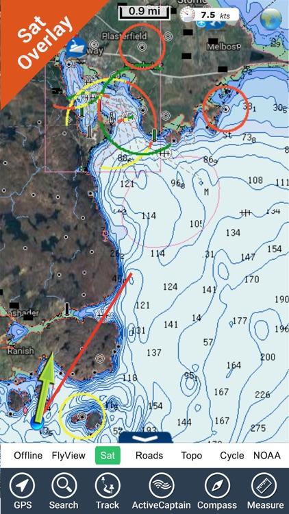 Marine : Hebrides HD - GPS Map Navigator screenshot-3