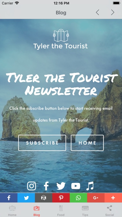 Tyler the Tourist - The App screenshot-4