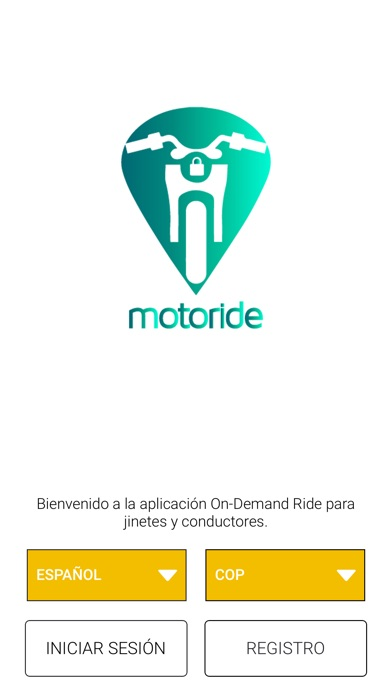 Screenshot for Motoride Driver in United States App Store