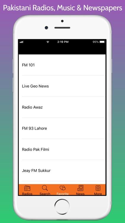 Pakistani Radios, Music & News screenshot-4