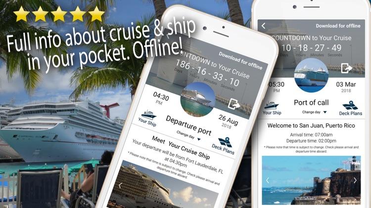 Cruise Itinerary App. CruiseBe screenshot-6