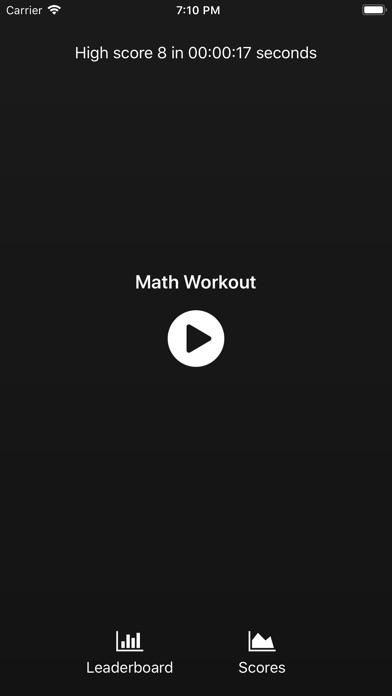 Math Workout +-0