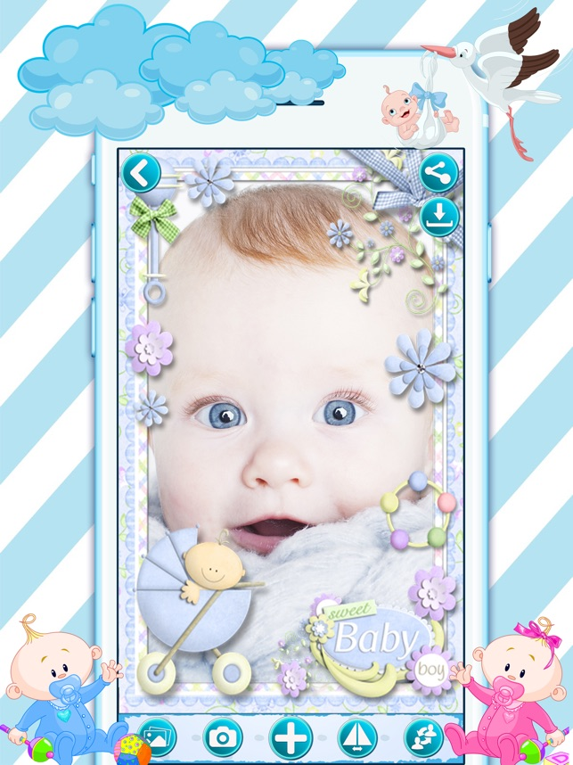 Baby Frames & Sticker Editor on the App Store