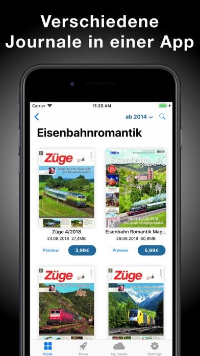 Bahn-Kiosk screenshot two