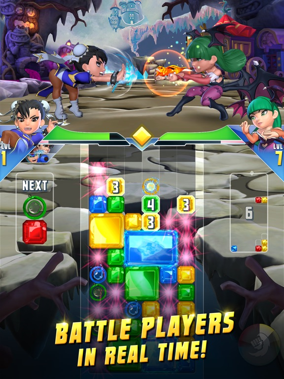 Puzzle Fighter screenshot #1