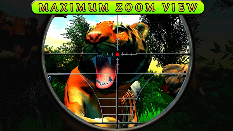 Jungle Four-Footed Animal Hunt screenshot-3