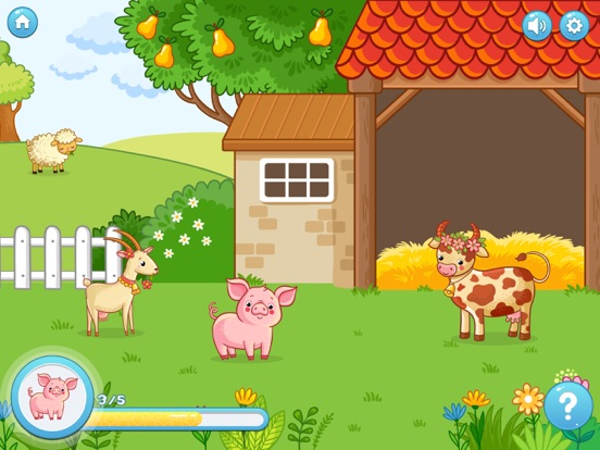 Screenshot #1 for Look&Say Toddler Learning Game