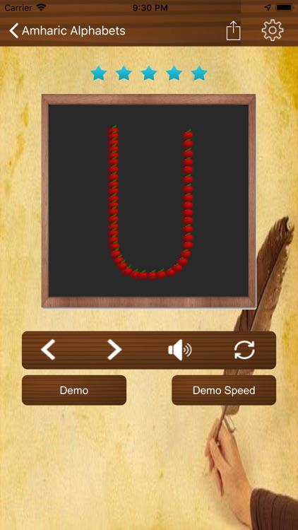 Learn Amharic Language screenshot-4