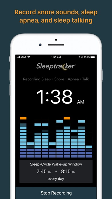 Sleeptracker® 24/7 screenshot1