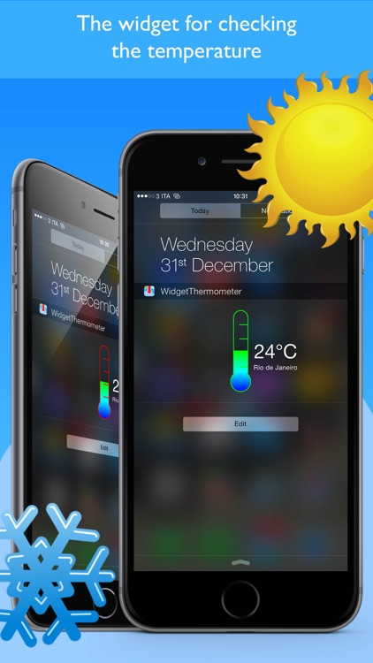 Widget Thermometer Pro