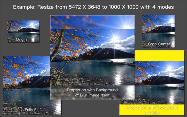 Image Resizer Stack Screenshot
