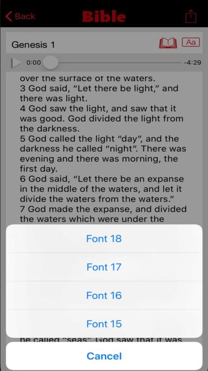 World English Bible Audio screenshot-4
