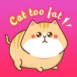 Cat To Fat Stickers