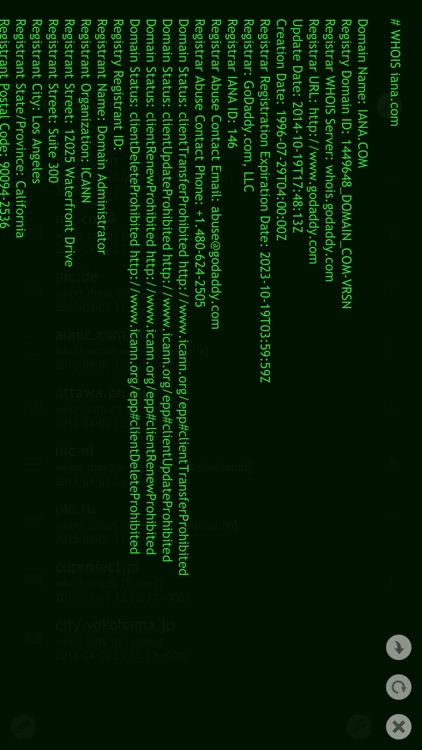 Deep Whois screenshot-2