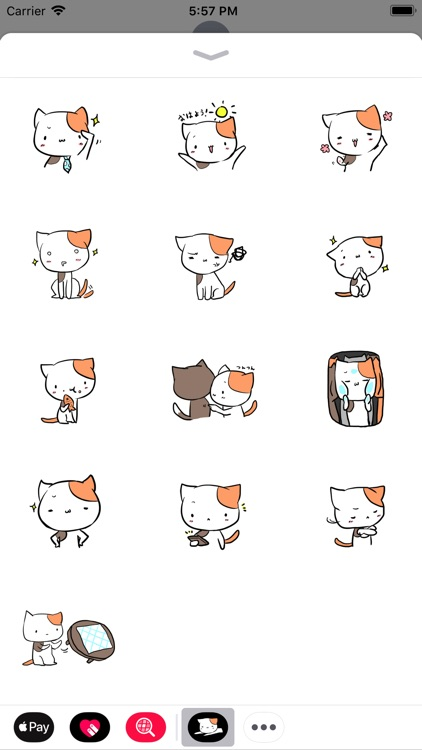 Mike San The Cat Sticker Pack