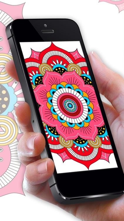 Mandala Color By Number Paint screenshot-4