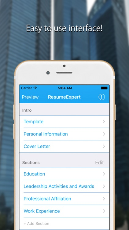 Resume Expert - Pro CV Builder