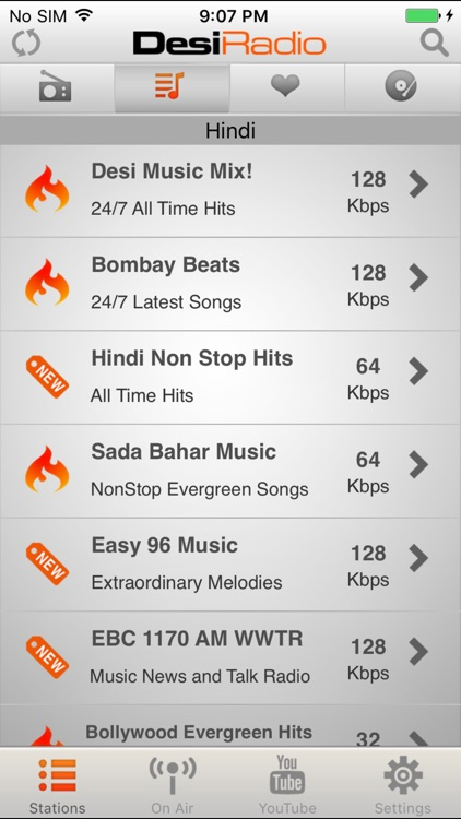 Desi Radio - Indian Stations screenshot-3
