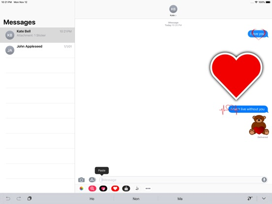 Love Stickers ملصقات الحب screenshot 4