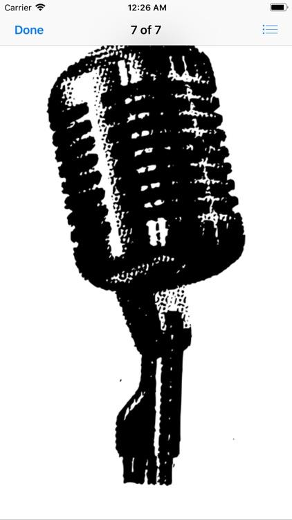 Microphone Stickers screenshot-9