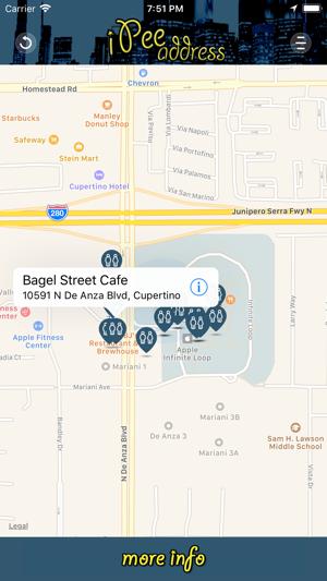 iPee Address - Restroom Finder on the App Store